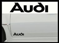 AUDI LOGO 2 CAR BODY DECALS
